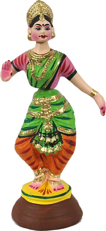 thanjavur Bharathnadiyam  dolls